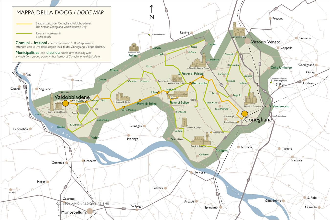 DOC and DOCG Zones