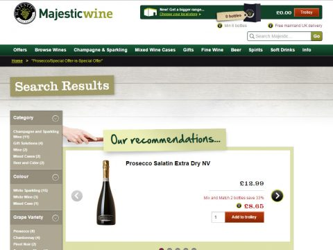majestic prosecco offer