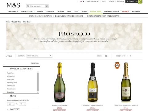 Buy 2 Cases of Prosecco
