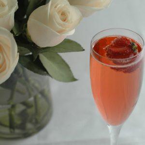 rose prosecco cocktail