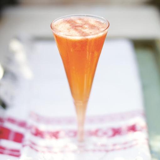 Strawberry Prosecco Cocktail