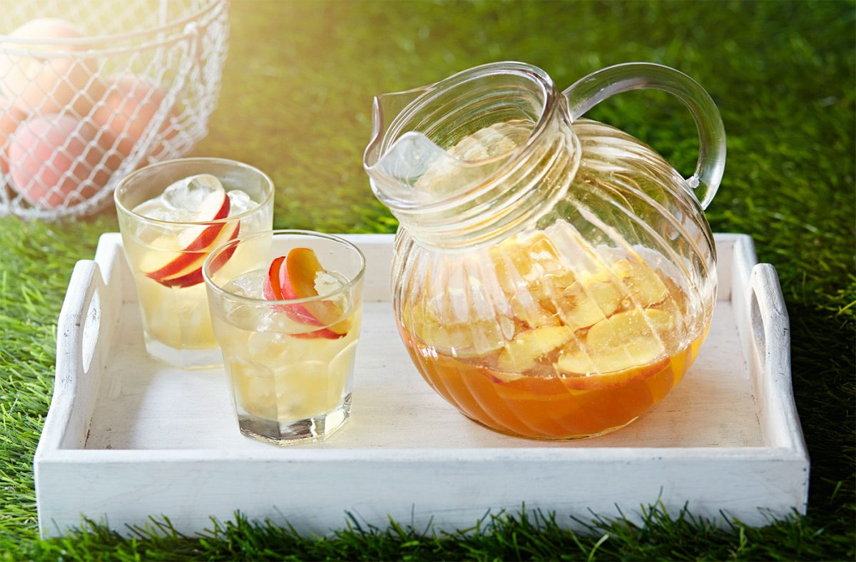 Peachy Prosecco Cocktail