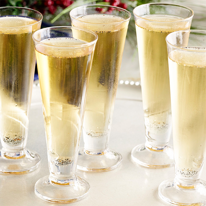 Ginger Sparkler Prosecco Cocktail
