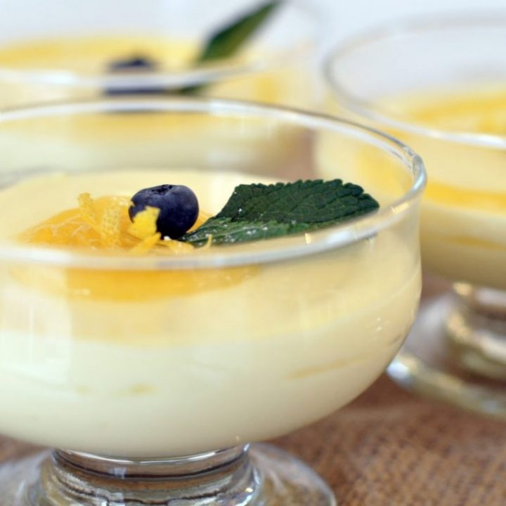 Lemony Prosecco Syllabub
