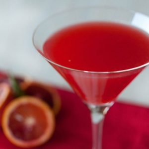 Bubbly Blood Prosecco Cocktail