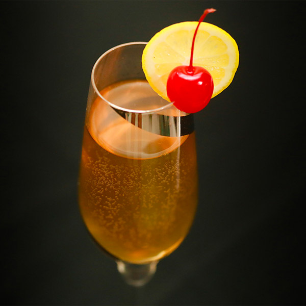 Amaretto Sour Prosecco Cocktail