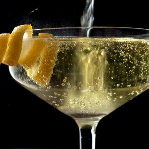 Winter warmer prosecco cocktail