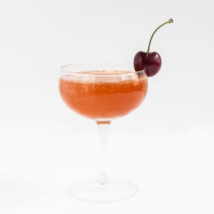 winter cherry cocktail
