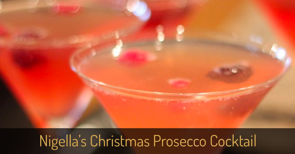 Nigella 39 s 39 christmas in a glass 39 prosecco cocktail for Christmas in a glass cocktail