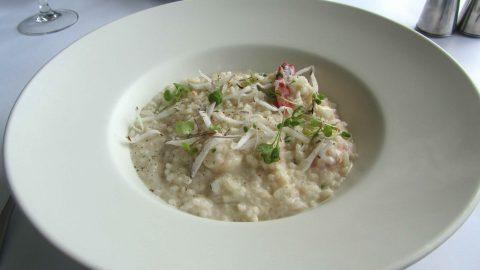 scallop and prosecco risotto