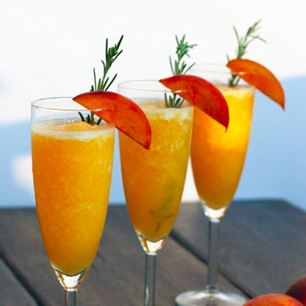 Peachy Keen Prosecco Cocktail