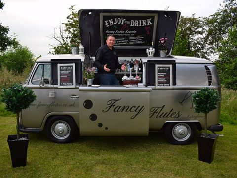 fancy flutes prosecco van