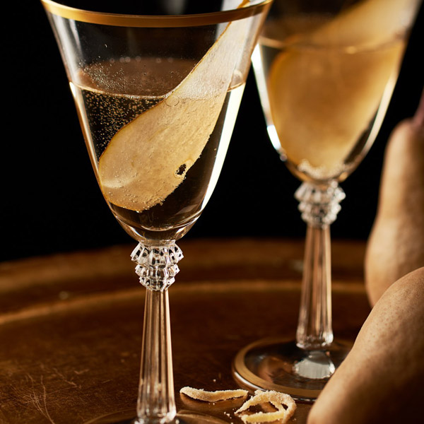 'Pear-fect' Prosecco Cocktail