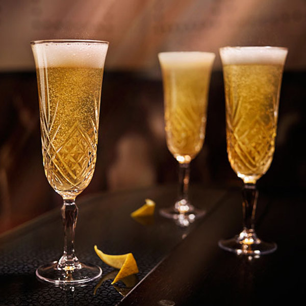 Comfort Joy Prosecco Cocktail