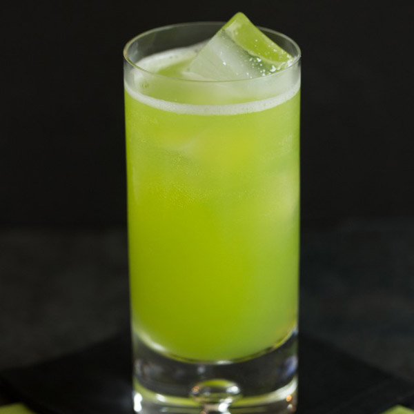 Melon Bellini Prosecco Cocktail