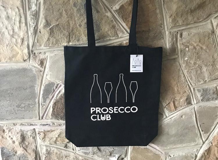 2 x Prosecco Club Tote Bags