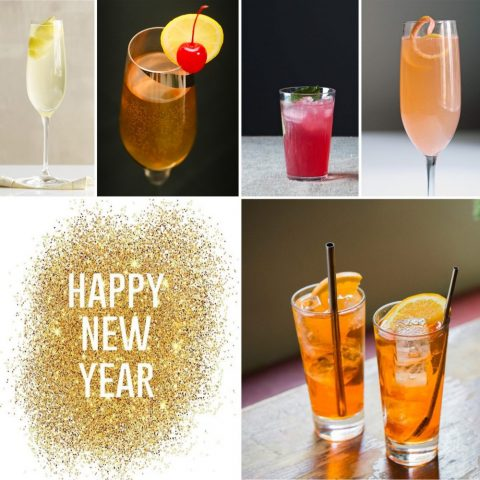 New Year Prosecco Cocktails