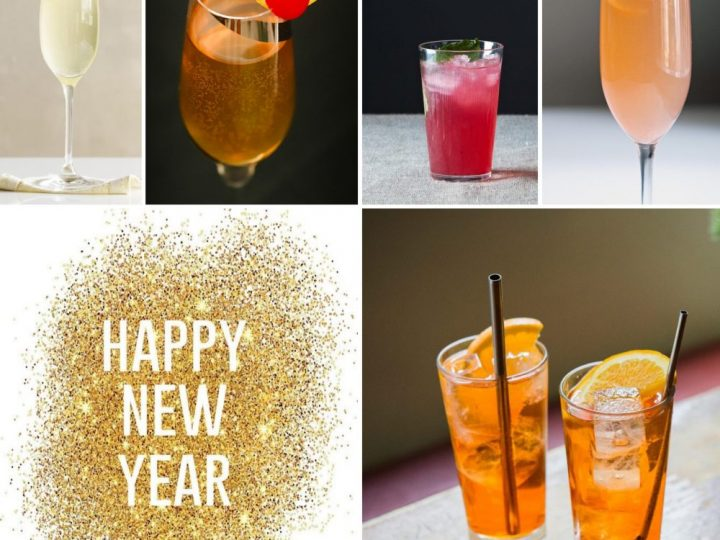 Top 5 essential cocktails for your New Year's Eve celebrations!
