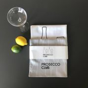 prosecco tea towel