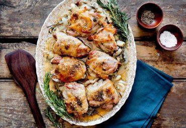 Prosecco braised chicken